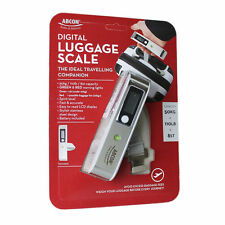 ABCON Digital Luggage Baggage Scale with Spirit Level Indicator 50 Kg 49.9kg
