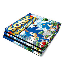 Skin Decal Cover Sticker for Sony PS4 Pro - Sonic Generations the Hedgehog