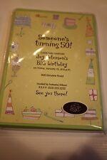 NWT 10 Hallmark birthday invitations printer friendly