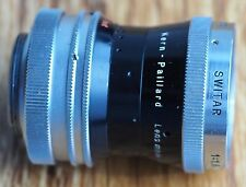 Kern Paillard Switar 10mm 1.6 H16 RX C mount cine lens   10 f1.6 10/1.6 BMPCC