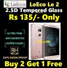 PREMIUM QUALITY 2.5D TEMPERED GLASS FOR LeEco Le 2  @ Rs 135/- Only