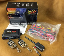 NEW Crimestopper / Cool Start RS4-G5 1-Way Remote Start and Keyless Entry System