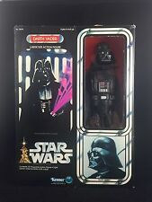 "MISB Darth Vader 12"" Factory Sealed No Flap Fold Star Wars Kenner Vintage CHEAP!"