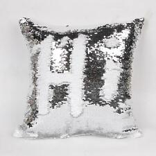 Sequin Sliver Cushion Beaded  Decorative Sofa Cushion Cover Throw Pillow Cover