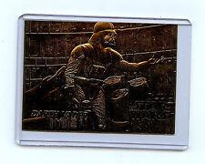 Star Wars Scoreboard 23Kt Gold Darth Vader Mint Card New from 1995 B1