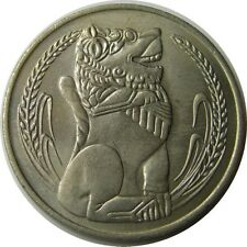 elf Singapore 1 Dollar 1976  Lion