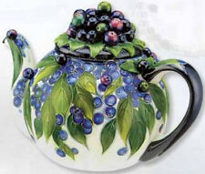 BLUEBERRY TEAPOT - Jeanette McCall - ICING ON THE CAKE - RETIRED
