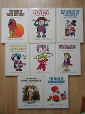 VALUE TALE LOT 8~GIVING~FORESIGHT~CURIOSITY~HUMOR~TRUTH TRUST~CHALLENGE~Johnson~