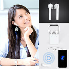 Wireless Bluetooth Kopfhörer +microphone For iPhone 7 Airpods and all Smartphone
