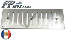Prise d'air / Grille inox 316 à lamelles réglable 229 x 77 mm Ref 5346802