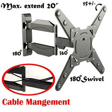 """Brand New Articulating Mounted LED TV Wall Stand Mount for Sharp 26"""" to 55"""""""