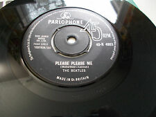 """THE BEATLES """"N.MINT"""" PLEASE PLEASE ME ASK ME WHY ORIGINAL UK ISSUE"""