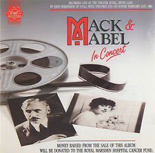 MACK & MABEL - LIVE IN CONCERT - GEORGE HEARN / GEORGIA BROWN ETC.- CD