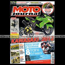 MOTO JOURNAL N°1973 YAMAHA FZX 750 FAZER, KAWASAKI 650 VERSYS ★ MOTO TOUR 2011 ★