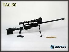 "ZY TOYS 1/6 Scale US TAC-50 Sniper Rifle Black Fit for 12"" action figure"