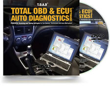 Total OBD Car Diagnostic Software Package ECU REMAPPING Chip Tuning Check Engine
