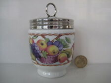 ROYAL WORCESTER KING SIZE EGG CODDLER FRUIT BASKET