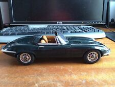 Auto Art 1/18 Scale Jaguar E-Type - British Green - Unboxed