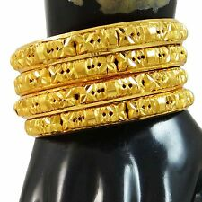 Indian Bollywood Gold Plated Traditional Women Bangles Bracelet Jewelry 2*8