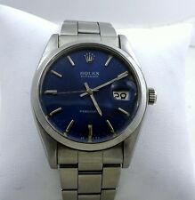 Vintage Rolex Oyster Precision 1979 Mens Oysterdate 35mm Watch Model 6694