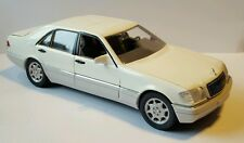 Mercedes W140 600SEL V12 500SEL V8 420SEL S-Klasse weiß white blanc Schabak 1:24
