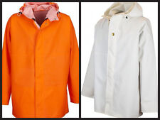 Guy cotten imperméable léger Gamvik veste en orange ou blanc.