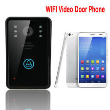 ENNIO Bell Smart WiFi Video Camera Door Phone Rainproof Intercom Doorbell IR LED