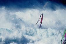 568079 windsurf en el grande y blanco oleadas de Hookipa Jimmy Lewis A4 Foto Impresión