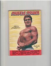 MUSCLE POWER bodybuilding fitness magazine/RENE LEGER 9-46