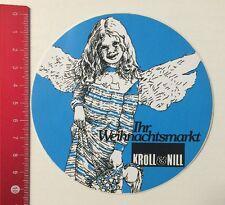 Aufkleber/Sticker: Kröll & Nill - Ihr Weihnachtsmarkt (29051652)
