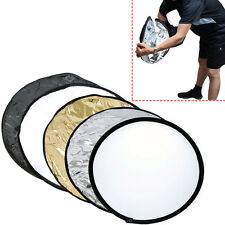 80cm Foldable Light Reflector for Studio & Outdoor Photography 5 Color on choose