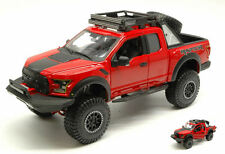 Ford F-150 Raptor 2017 Red 1:24 Model MAISTO