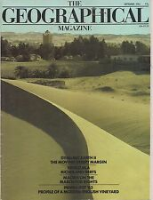 the geographical magazine-SEPT 1984-DYNAMIC EARTH II-THE MOVING DESERT MARGIN.