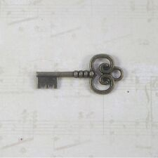10 Birthday party wedding Skeleton keys antique old look Event steampunk curly t