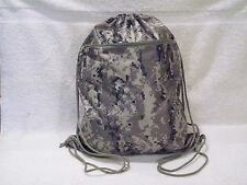 New ACU Tan Digital Camouflage Drawstring Tote Bag Backpack Camo Polyester