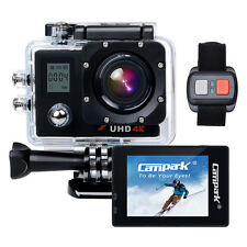 1 Battery Dual LCD Campark Ultra HD 4k WIFI Sports Action Camera Remote Control