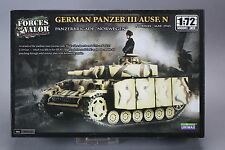 YW008 UNIMAX 1/72 maquette tank char 87011 German Panzer III AUSF. N Panzebrigad