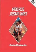 People Jesus Met-Puzzle Bk: