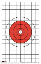 """500 EZ2C Targets Style 5 Rifle or Pistol Targets with 1"""" Grids (500 pack)"""