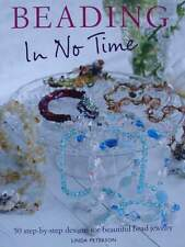 LIVRE/BOOK : BIJOUX A FAIRE SOI MEME (perles,beading in no time,jewellery