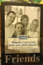 Friend Family Photo Picture Magnet Frame Memory Refrigerator File Cabinet NEW