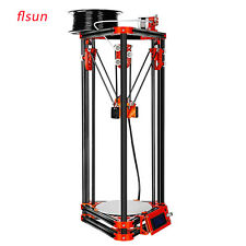 Flsun Delta 3D Printer DIY Kit Metal Frame Kossel  3D Heated Bed Auto Leveling