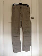 Men's Crosshatch Low Rise Cobblestone Chino Stone Size 28R