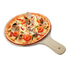 New Durable Wooden Pizza Making Peel Pizzeria Bake Paddle Lifter Kitchen Tool