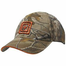 SALE 5.11 RealTree X-TRA Camo/Orange Logo Adult Adjustable Baseball Cap RRP=£20