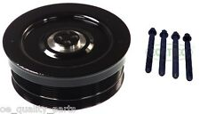 CRANKSHAFT PULLEY VIBRATION DAMPER BMW E46 E90 5 E60 E61 X5 X3 X6 3.0d + 4X BOLT