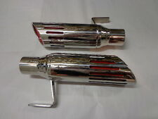 71-74 Mopar B Body Road Runner GTX Charger 2-1/4 Stainless Exhaust Tips