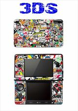 SKIN STICKER AUTOCOLLANT DECO POUR NINTENDO 3DS REF 185 STICKER BOMB