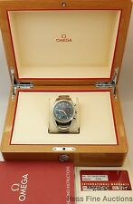Mint Omega Speedmaster 57 Co Axial Steel Automatic Chronograph Box Papers