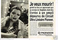 Publicité Advertising 1993 (2 pages) Hi-Fi Tuner Pioneer